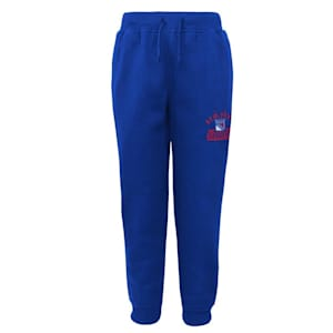 Adidas New York Rangers Pro Game Sweatpants - Youth