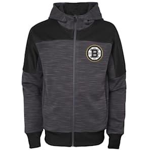 Adidas Boston Bruins Sleek Essentials Full Zip - Youth