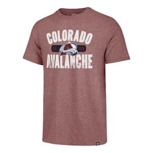 47 Brand Milestone Match Tee Colorado Avalanche - Adult