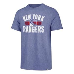 47 Brand Milestone Match Tee New York Rangers - Adult