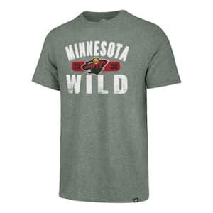 47 Brand Milestone Match Tee Minnesota Wild - Adult
