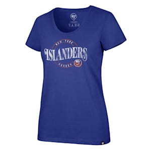 47 Brand Wave Club Scoop Tee New York Islanders - Womens
