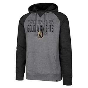 47 Brand Vegas Golden Knights Match Raglan Hoody - Adult