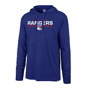 47 Brand End Line Club Hoody New York Rangers - Adult