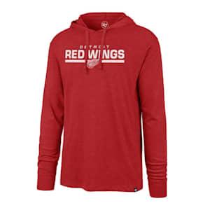 47 Brand End Line Club Hoody Detroit Red Wings - Adult