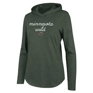 47 Brand Women's Club Hoody Minnesota Wild - Womens