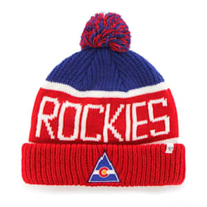 47 Brand Calgary Pom Knit Hat Colorado Rockies - Adult