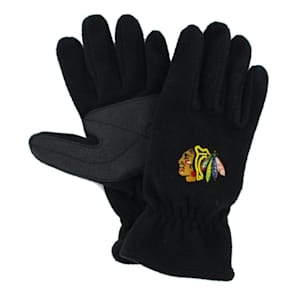 47 Brand Chicago Blackhawks Fleece Gloves - Adult