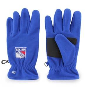 47 Brand NY Rangers Fleece Gloves - Adult