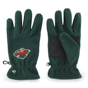 47 Brand Minnesota Wild Fleece Gloves - Adult