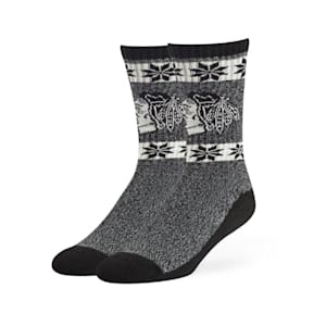 47 Brand Norse Crew Sock - Chicago Blackhawks - Adult