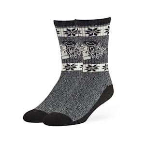 47 Brand Norse Crew Sock - Chicago Blackhawks - Adult