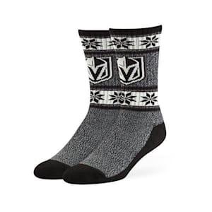 47 Brand Norse Crew Sock - Vegas Golden Knights - Adult