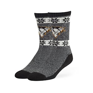 47 Brand Norse Crew Sock - Pittsburgh Penguins - Adult