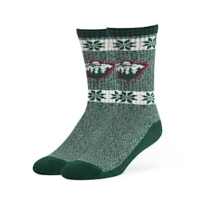 47 Brand Norse Crew Sock - Minnesota Wild - Adult
