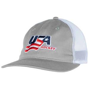 USA Hockey Meshback Cap - Adult