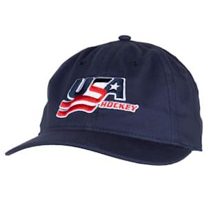 USA Hockey Adjustable Dad Cap - Adult