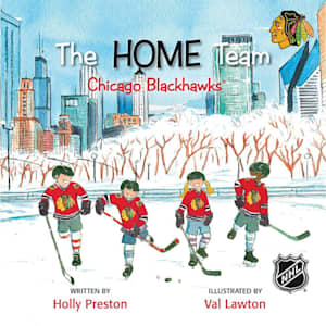 MasterPieces Home Team Book - Chicago Blackhawks
