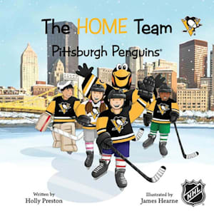 MasterPieces Home Team Book - Pittsburgh Penguins