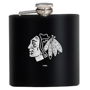 Chicago Blackhawks Stainless Steel Flask