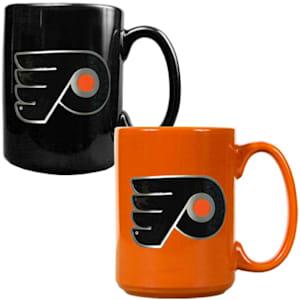 Philadelphia Flyers 15 oz Ceramic Mug Gift Set