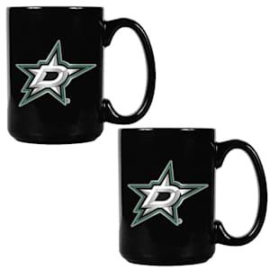 Dallas Stars 15 oz Ceramic Mug Gift Set
