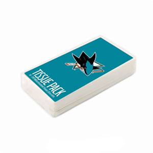 San Jose Sharks NHL Tissue Packet