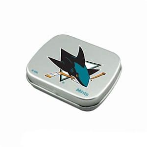 NHL Breath Mints Tin - San Jose Sharks