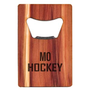 Woodchuck USA Missouri Hockey Bottle Opener- Short