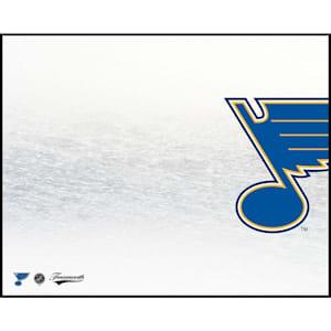 Frameworth St. Louis Blues 8x10 Dry Erase Plaque