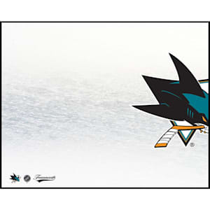 Frameworth San Jose Sharks 8x10 Dry Erase Plaque