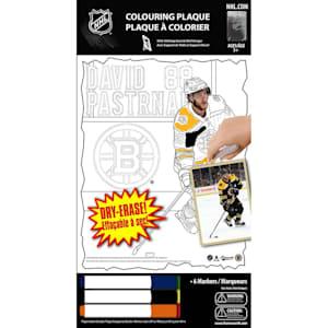 Frameworth David Pastrnak NHL Coloring Plaque