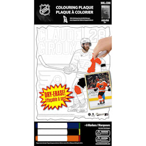 Frameworth Claude Giroux NHL Coloring Plaque