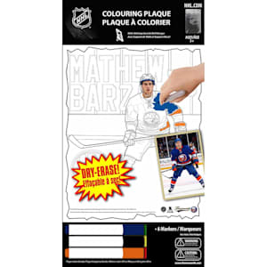 Frameworth Matthew Barzal NHL Coloring Plaque