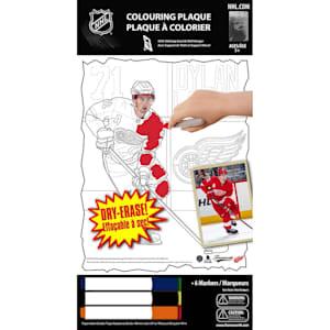 Frameworth Dylan Larkin NHL Coloring Plaque
