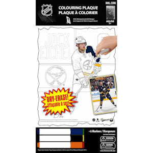 Frameworth Jack Eichel NHL Coloring Plaque