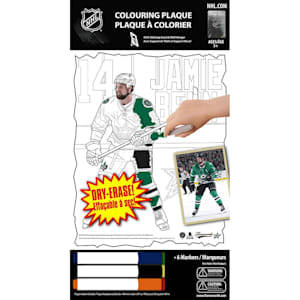 Frameworth Jamie Benn NHL Coloring Plaque