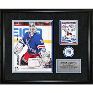 Frameworth New York Rangers Photocard Frame - Henrik Lunqvist