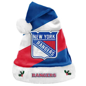 New York Rangers Holiday Santa Hat