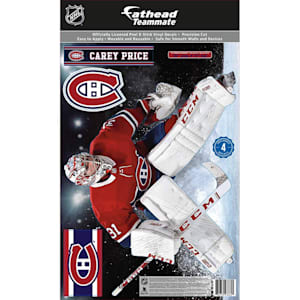 Fathead NHL Teammate Carey Price Montreal Canadians Wall Decal