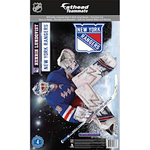 Fathead NHL Teammate New York Rangers Henrik Lundqvist Wall Decal