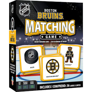 MasterPieces Matching Game- Boston Bruins