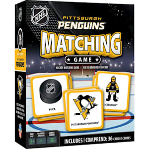 MasterPieces Matching Game- Pittsburgh Penguins