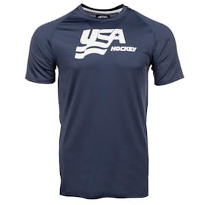 USA Hockey Short Sleeve Performance Tee - Adult