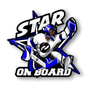Star on Board Boy - Goalie