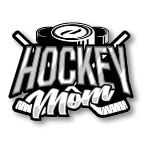 Hockey Mom Sticker