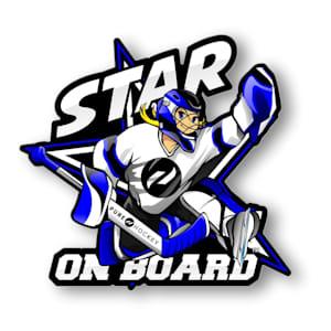 Star on Board Girl - Goalie