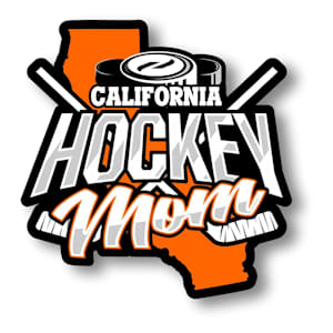 Hockey Mom State Sticker