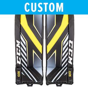 CCM Custom Axis Pro Goalie Leg Pads - Senior