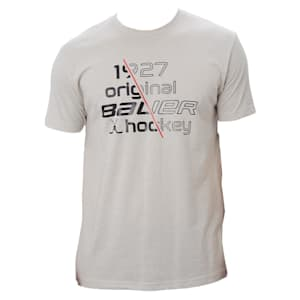 Bauer Slash 1927 Short Sleeve Crew Tee Shirt - Adult